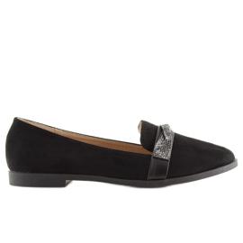 Loafers black H8-110 Black 5