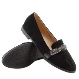 Loafers black H8-110 Black 6