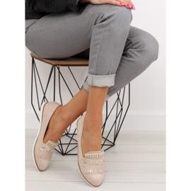 Women's loafers beige DM30P Beige 2