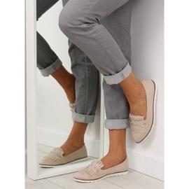 Women's loafers beige DM30P Beige 1
