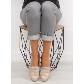 Women's loafers beige DM30P Beige 3