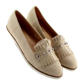 Women's loafers beige DM30P Beige 4