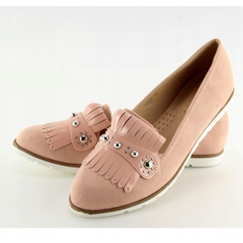 Moccasins for women pink DM30P Pink 5