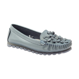 Filippo Loafers blue moccasins F 138 1