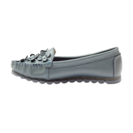 Filippo Loafers blue moccasins F 138 2