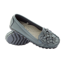 Filippo Loafers blue moccasins F 138 3