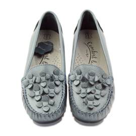 Filippo Loafers blue moccasins F 138 4