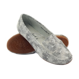 Filippo Lordsy women's loafers F 006 gray grey 3