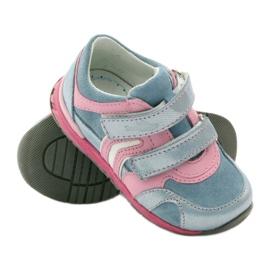 Ren But Velcro booties 1445 pink blue 3