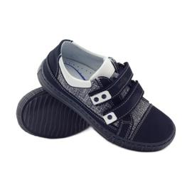 Ren But Boots for Velcro Butt 4299 navy blue white 3