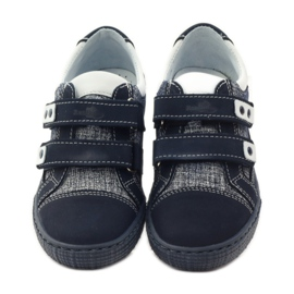 Ren But Boots for Velcro Butt 4299 navy blue white 4