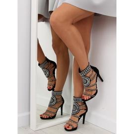 Gladiator sandals black GH-2776 black 2