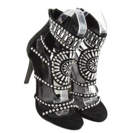 Gladiator sandals black GH-2776 black 6