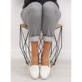 Loafers lordsy white T309P White 2
