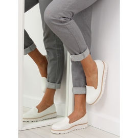 Loafers lordsy white T309P White 1