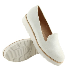 Loafers lordsy white T309P White 6