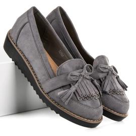Seastar Loafers with tassels grey 4