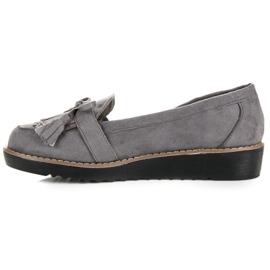 Seastar Loafers with tassels grey 2