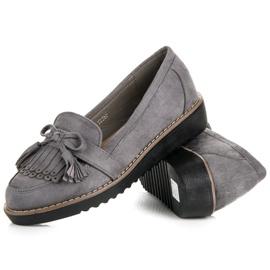 Seastar Loafers with tassels grey 3