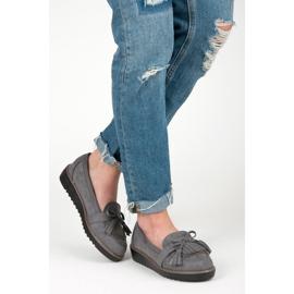 Seastar Loafers with tassels grey 6