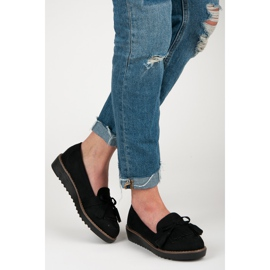 Seastar Loafers with tassels black 5