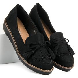 Seastar Loafers with tassels black 1