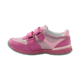 Girls' shoes with flower Ren But 3265 pink grey 2