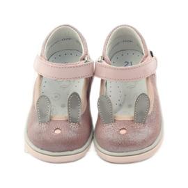 Ballerinki bunny rabbit Bartek 31908 pink brocade 4