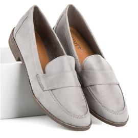 Comer Gray suede moccasins grey 4
