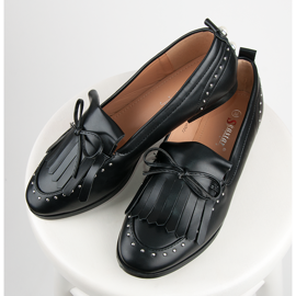 Seastar Stylish moccasins for spring black 4
