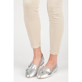 Silver moccasins vices grey 4