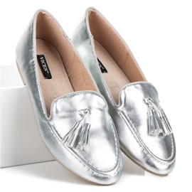Silver moccasins vices grey 1