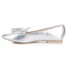 Silver moccasins vices grey 3