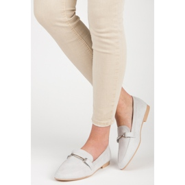 Women's moccasins VICES grey 5