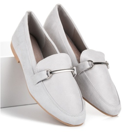 Women's moccasins VICES grey 3