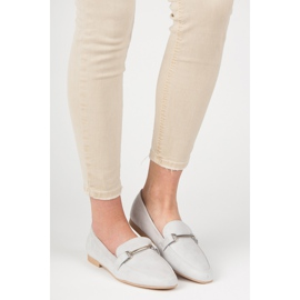 Women's moccasins VICES grey 4