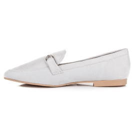 Women's moccasins VICES grey 1