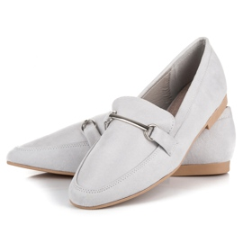 Women's moccasins VICES grey 2