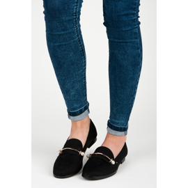 Seastar Loafers with pearls black 4