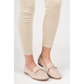 Seastar Loafers With Pearls beige 4