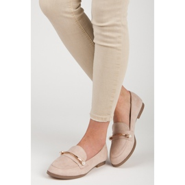 Seastar Loafers With Pearls beige 5