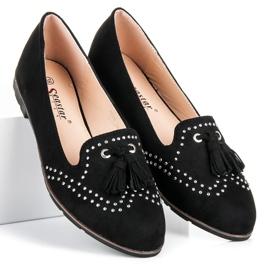 Seastar Stylish footwear in the spring black 3