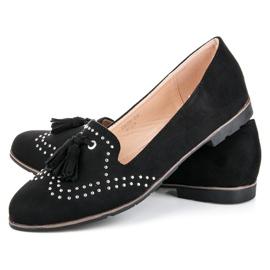 Seastar Stylish footwear in the spring black 2