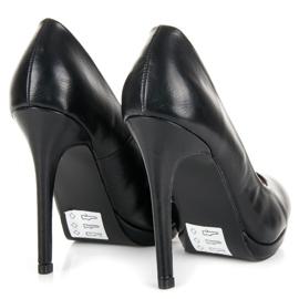 Seastar Classic black heels 4