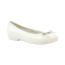 American Club Ballerinas shoes with American white bow 1