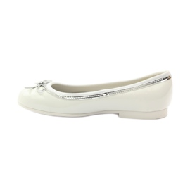 American Club Ballerinas shoes with American white bow 2