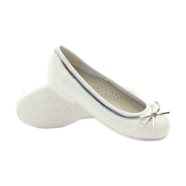 American Club Ballerinas shoes with American white bow 3