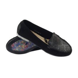 Shoes suede moccasins Sergio Leone 721 black grey 3