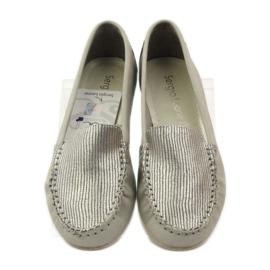 Shoes suede moccasins Sergio Leone 721 grey 4