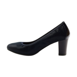 Sergio Leone Pumps On Pistil 233 dark blue navy 2